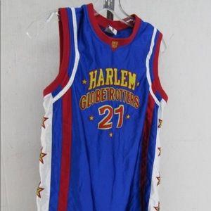 """Harlem Globetrotters Other - Autographed """"Special K"""" Harlem Globetrotter Jersey"""